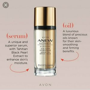100% Authentic Avon Anew Ultimate Dual Elixir